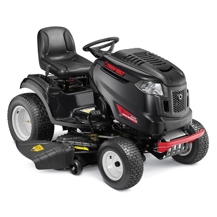 Troy-Bilt XP Super Bronco Xp 50 24-HP V-Twin Hydrostatic 50-in Riding Lawn Mower