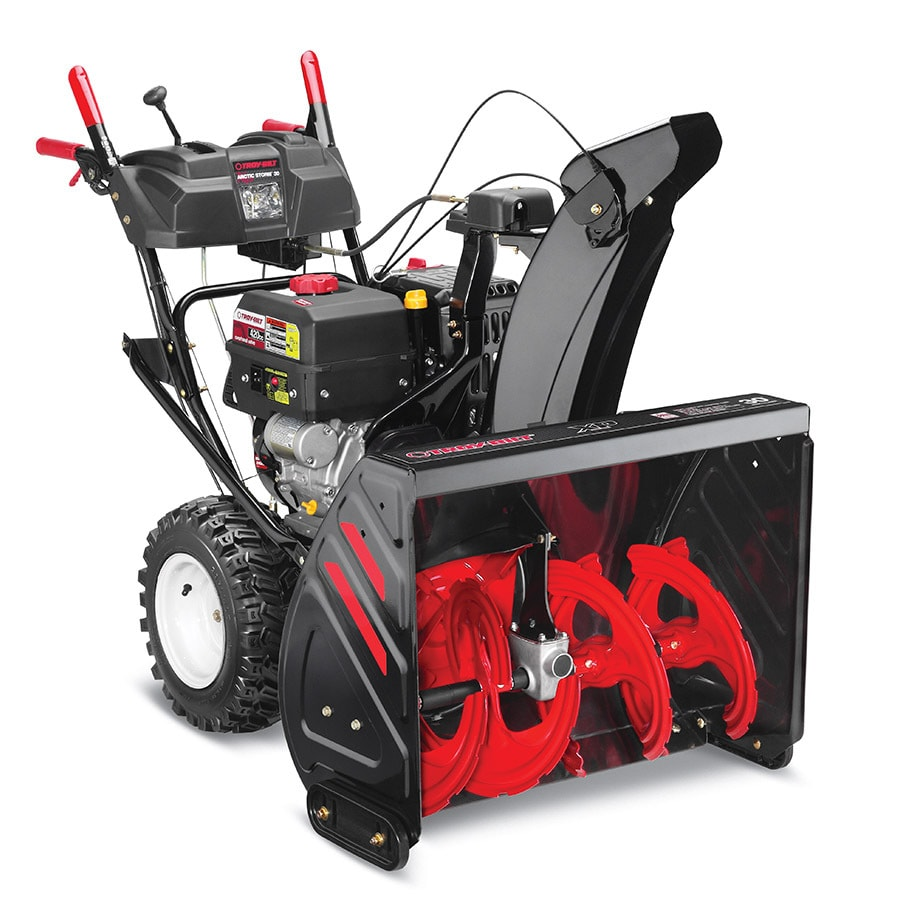Troy-Bilt Arctic Storm 30 357cc 30-in Two-Stage Electric Start Gas Snow Blower with Heated Handles and Headlight