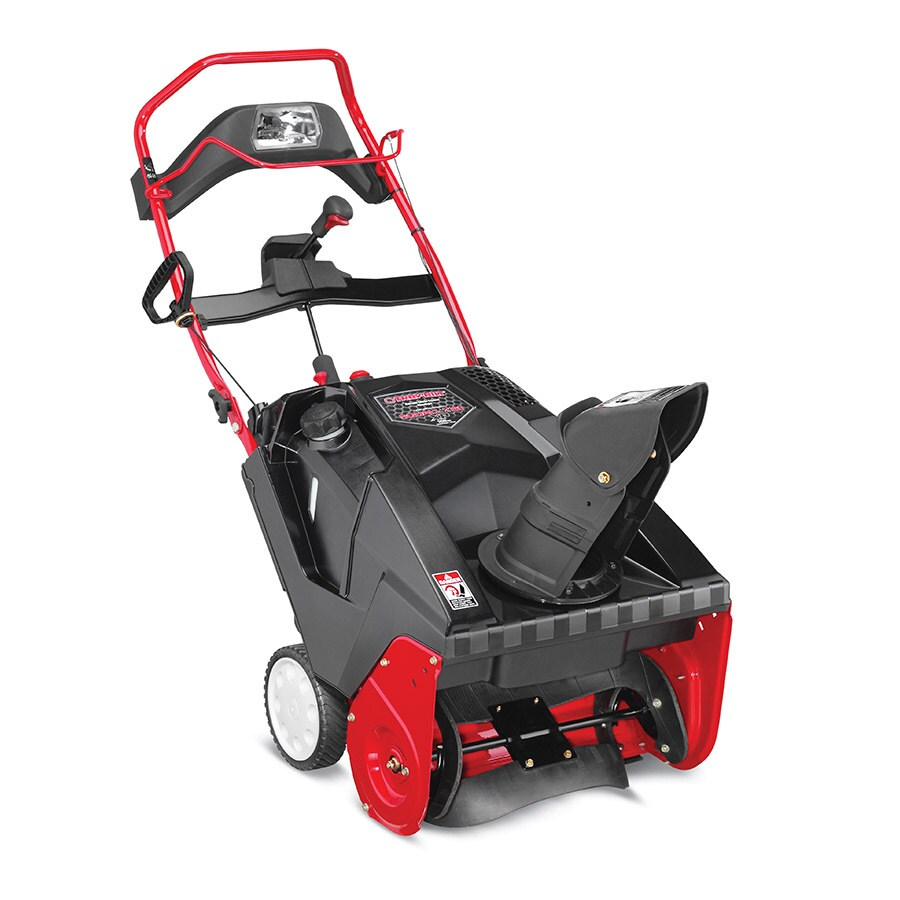 Troy-Bilt XP Squall 2160 XP 21-in Single-stage Push-button Electric Start Gas Snow with Headlights