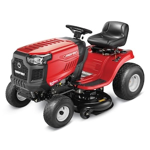 Troy-Bilt Bronco 19-HP Automatic 42-in Riding Lawn Mower