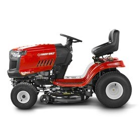 5a2fab15 Troy-Bilt Bronco 19-HP Automatic 42-in Riding Lawn Mower with ...