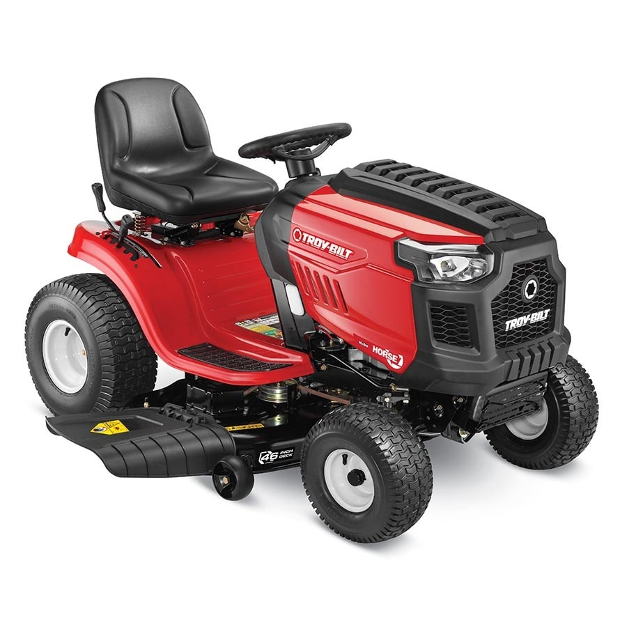 Troy-Bilt Horse 20-HP Hydrostatic 46-in Riding Lawn Mower with
