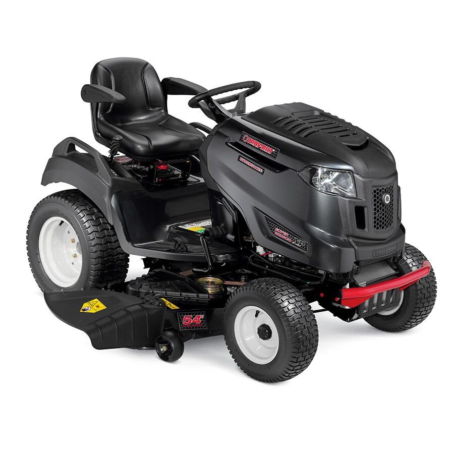 Troy-Bilt Super Bronco Xp 54 Gt Fab Dl 26-HP V-Twin Hydrostatic 54-in Garden Tractor