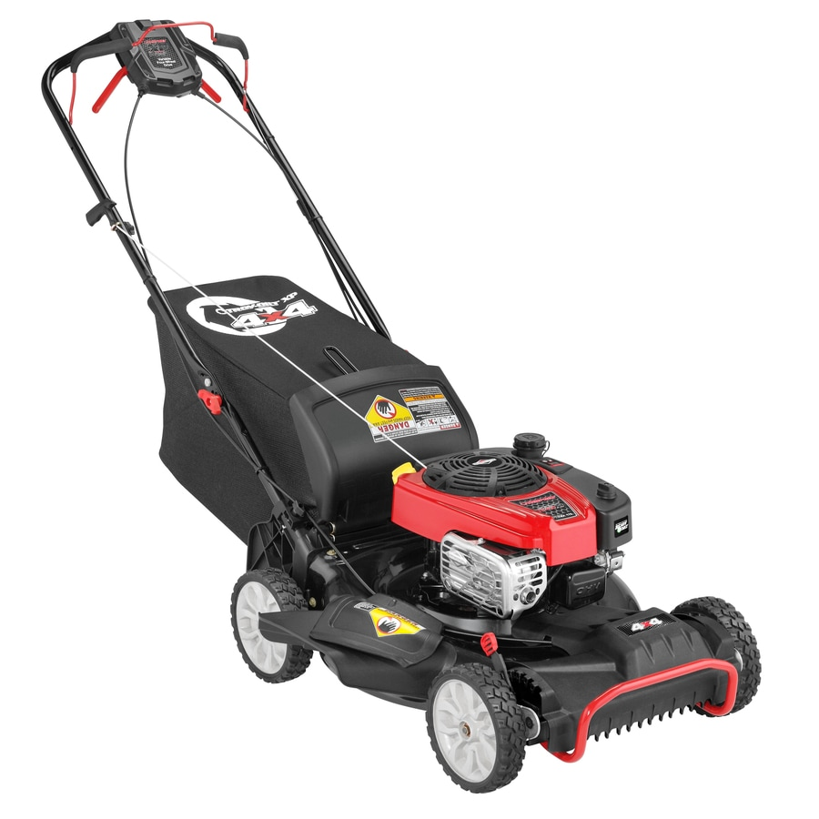 Troy-Bilt Tb450 Xp 175cc 21-in Self-Propelled All-Wheel Drive Gas Lawn Mower with Mulching Capability
