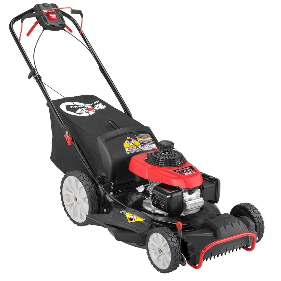 Xp 190cc 21-in Self-Propelled All-Wheel Drive Residential Gas Push Lawn Mower with Mulching Capable