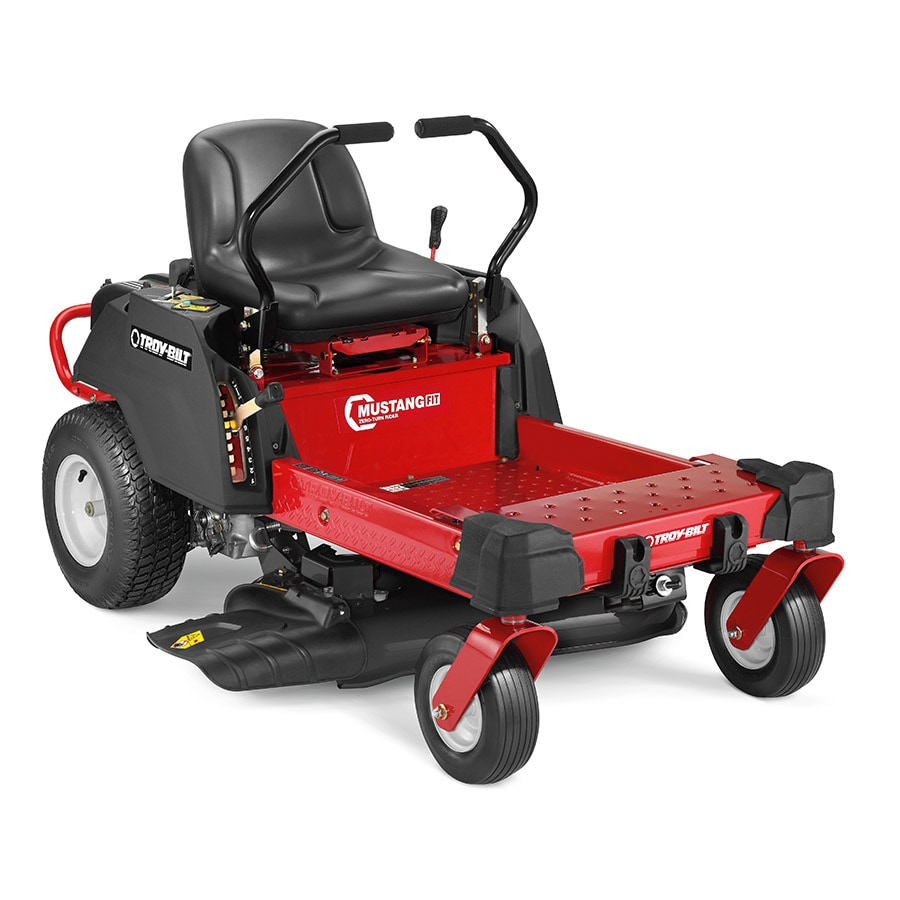 Troy-Bilt Mustang Fit 34  Dual Hydrostatic 34-in Zero-turn Lawn Mower with Mulching Capability (Kit Sold Separately)