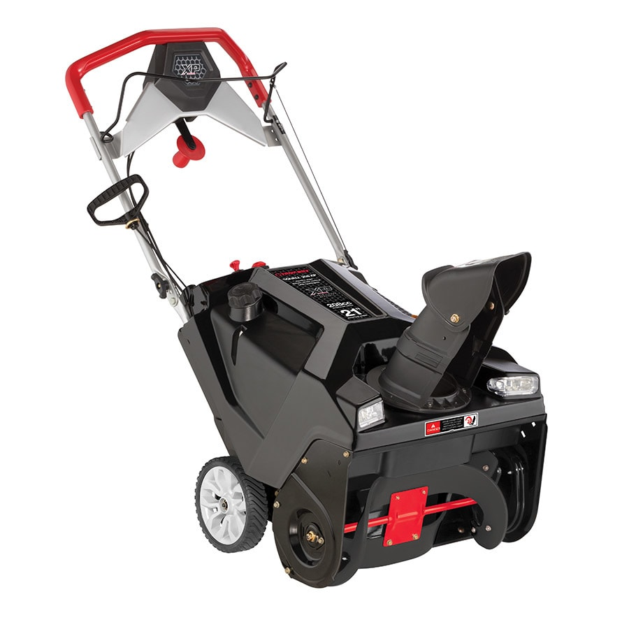 Troy-Bilt Squall 208 XP 21-in Single-stage Push-button Electric Start Gas Snow with Headlights