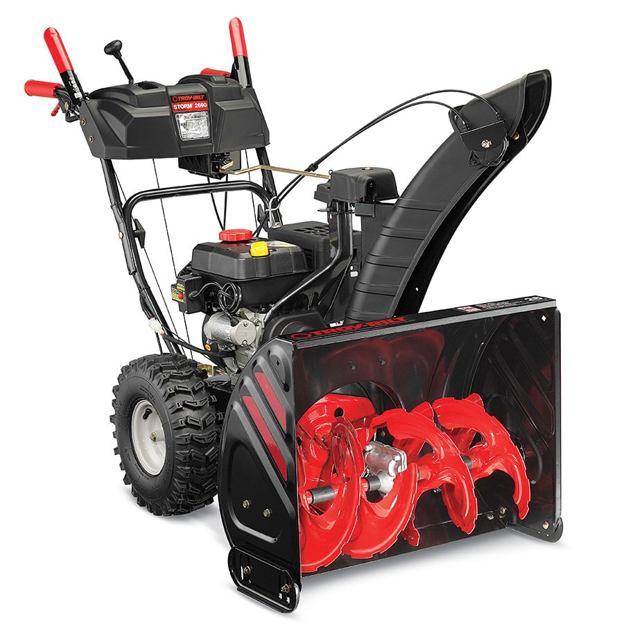 Troy-Bilt Storm 2690 XP 26-in Two-stage Push-button Electric Start Gas Snow Blower Heated Handles and Headlight