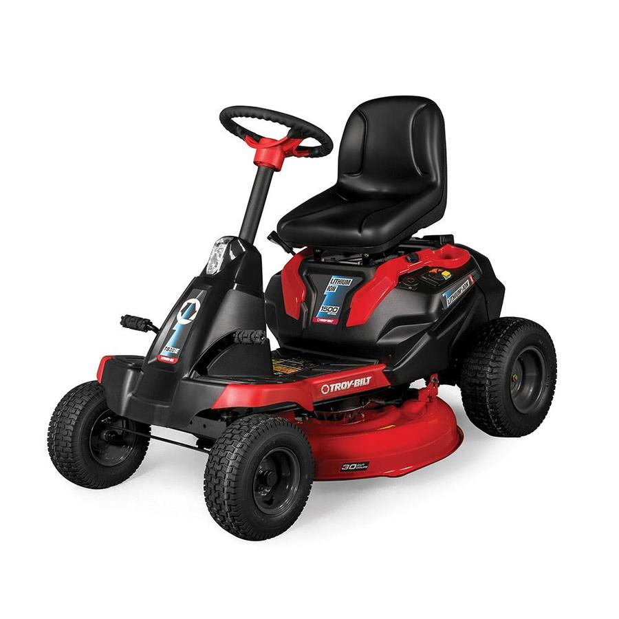 Troy Bilt Tb30 E 56 Volt 30 In Battery Riding Mower