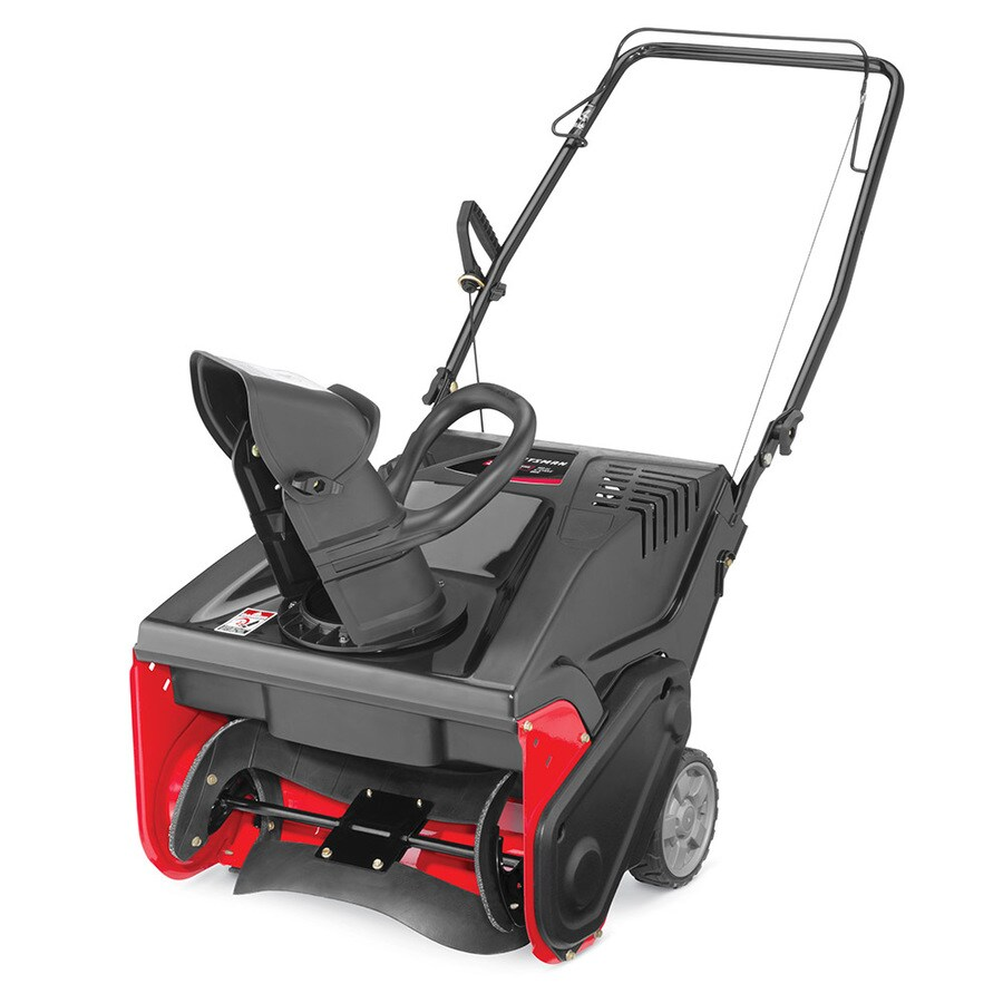 craftsman 21 in single stage gas snow blower at. Black Bedroom Furniture Sets. Home Design Ideas