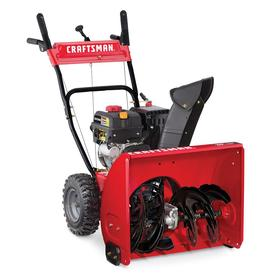 CRAFTSMAN 24-in Two-stage Self-propelled Gas Snow Blower