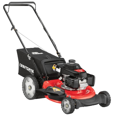 CRAFTSMAN M140 160-cc 21-in Gas Push Lawn Mower with Honda