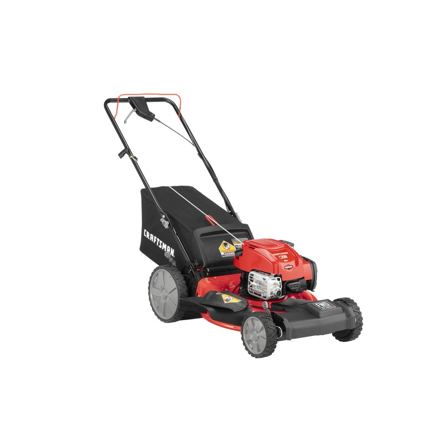 Craftsman M230 163 Cc 21 In Self Propelled Gas Push Lawn Mower With