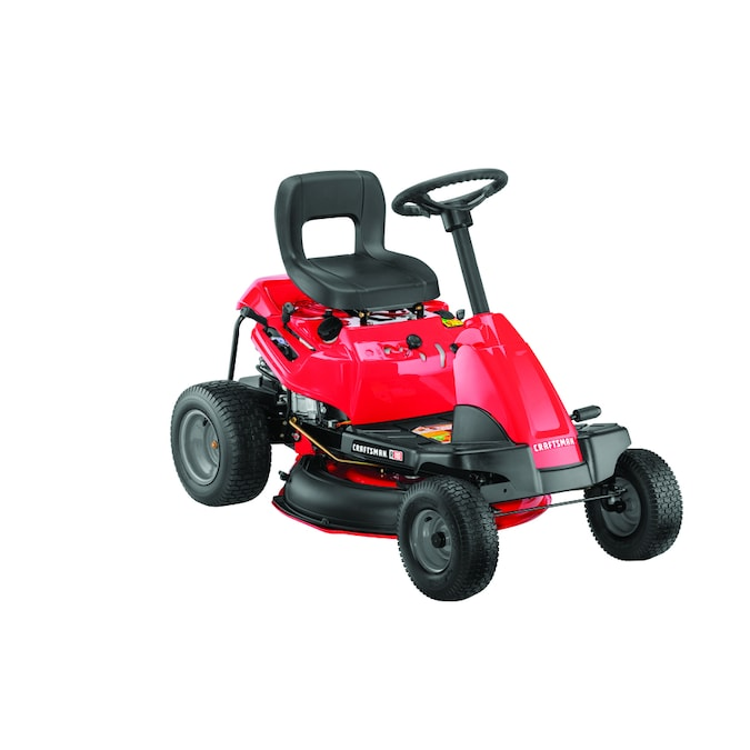 Craftsman R110 10 5 Hp Manual Gear 30 In Riding Lawn Mower With Mulching Capability Included In The Gas Riding Lawn Mowers Department At Lowes Com