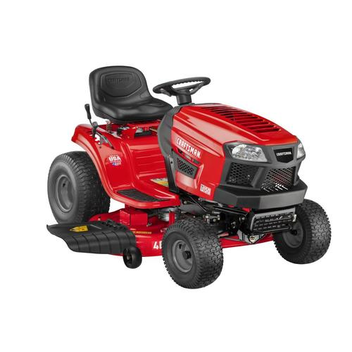 Craftsman T150 19 Hp Hydrostatic 46 In Riding Lawn Mower With Mulching Capability Kit Sold Separately In The Gas Riding Lawn Mowers Department At Lowes Com