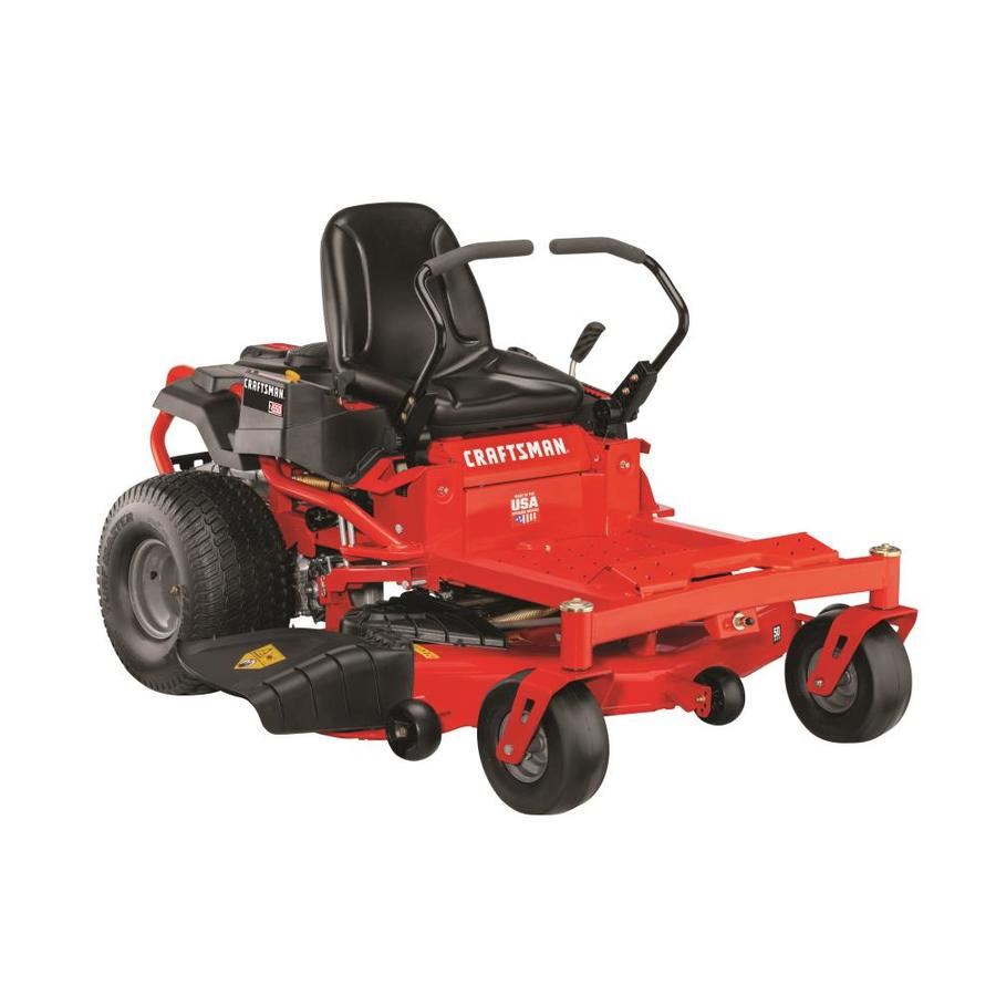 CRAFTSMAN Z550 23-HP V-twin Dual Hydrostatic 50-in Zero-turn Lawn