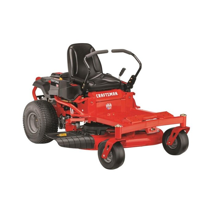 Craftsman Z510 20 Hp V Twin Dual Hydrostatic 42 In Zero Turn Lawn Mower With Mulching Capability Kit Sold Separately In The Zero Turn Riding Lawn Mowers Department At Lowes Com