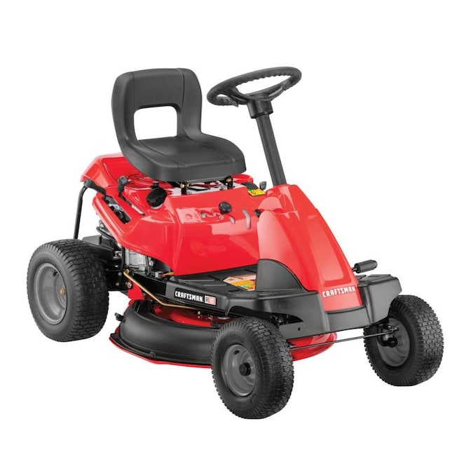 Craftsman R110 10 5 Hp Manual Gear 30 In Riding Lawn Mower With Mulching Capability Included Carb In The Gas Riding Lawn Mowers Department At Lowes Com