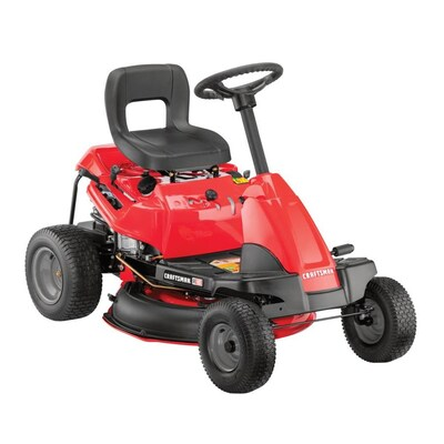 CRAFTSMAN 10 5-HP Manual/Gear 30-in Riding Lawn Mower with