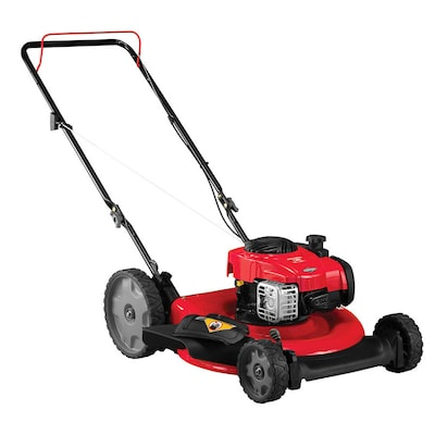 Gas Push Lawn Mowers At Lowes Com