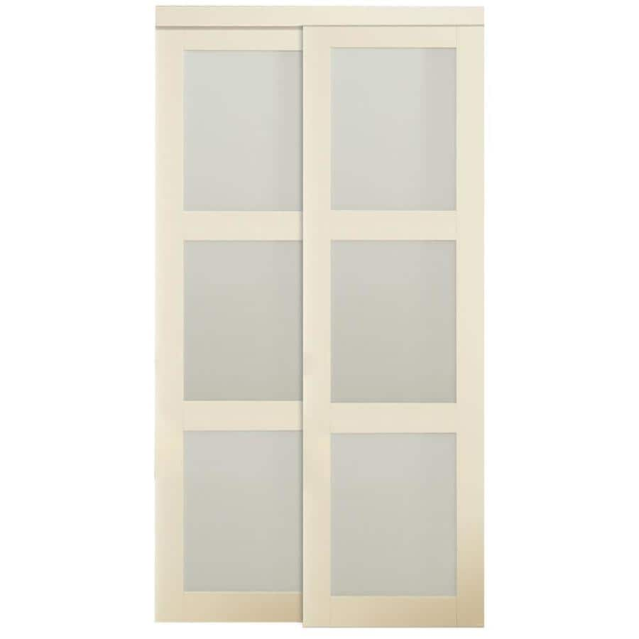 Shop Reliabilt Off White Mdf Sliding Closet Door With Hardware