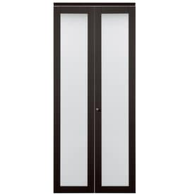Great ReliaBilt Frosted Glass MDF Bi Fold Closet Interior Door With Hardware