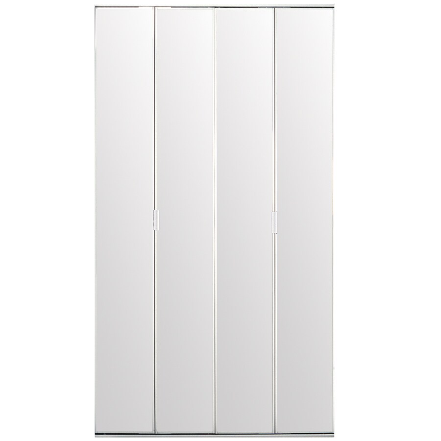 Reliabilt Flush Mirror Bi Fold Closet Interior Door Common 36 In X 80 Actual 78 56