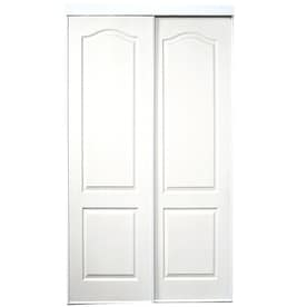 ReliaBilt White Steel Sliding Closet Interior Door With Hardware