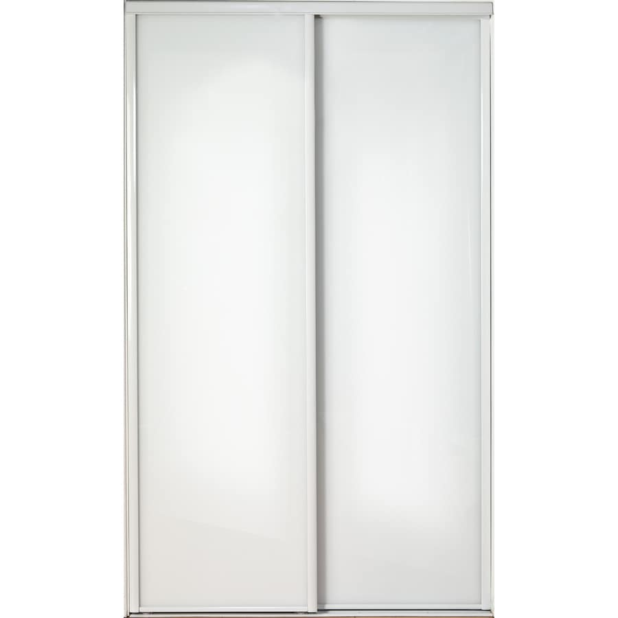 ReliaBilt Flush Sliding Closet Interior Door (Common: 48-in x 80-in; Actual: 48-in x 78-in)