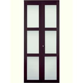 Reliabilt Mdf Bifold Door Hardware Included Common 30 In X 80