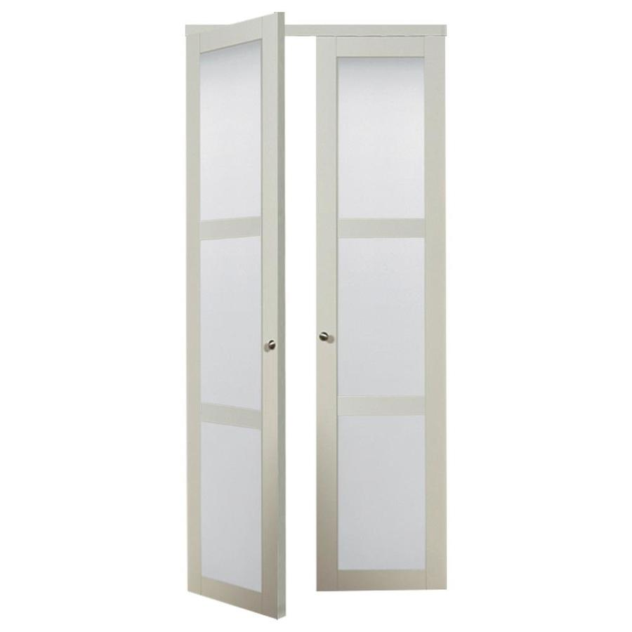 Reliabilt Off White Mdf Pivot Door With Hardware Common