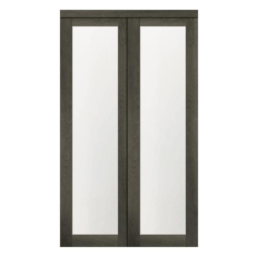 Write A Review About Reliabilt 1 Lite 2450 Gray Mdf Sliding Closet