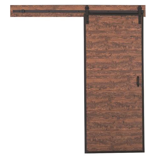 Reliabilt Metal Frame Acacia Prefinished 1 Panel Mdf Barn