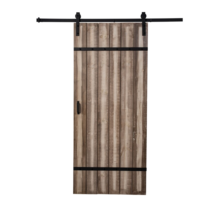 Reliabilt Sandstone Stain Decor Stained Wood Barn Door