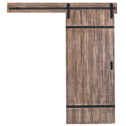 Reliabilt 1 Panel Soft Close Pine Barn Interior Door