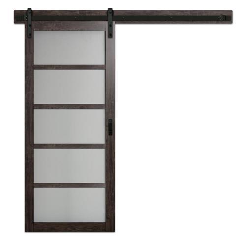 Reliabilt Bright White Prefinished 5 Panel Mdf Barn Door