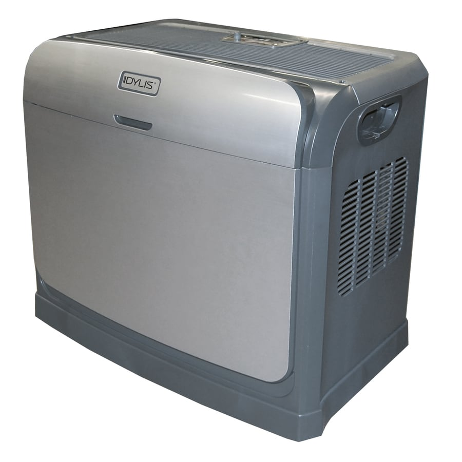 shop humidifiers at lowes com idylis 4 gallon console evaporative humidifier