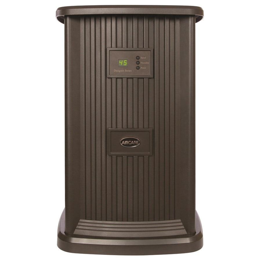AIRCARE Pedestal Evaporative Humidifier 3.5-Gallon Tower Evaporative Humidifier