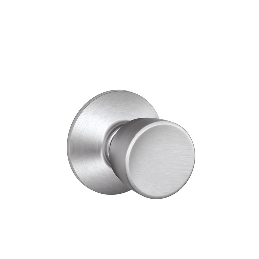Schlage Bell Satin Chrome Tulip Passage Door Knob