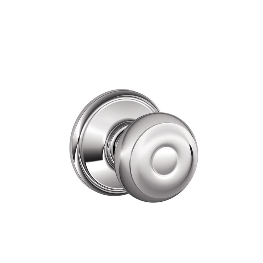 Schlage Georgian Bright Chrome Round Passage Door Knob