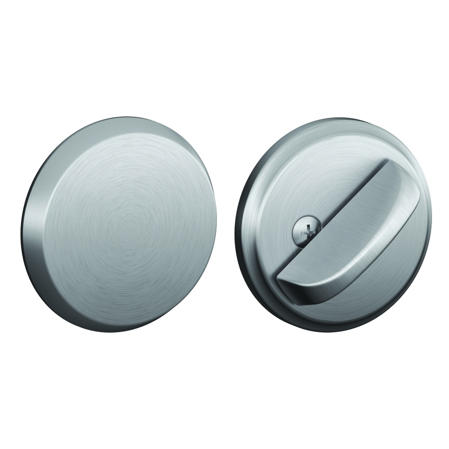 Schlage B Satin Chrome Deadbolt