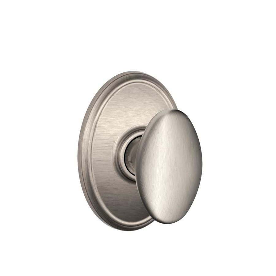 Schlage Siena Satin Nickel Egg Passage Door Knob