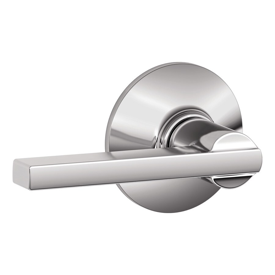 Schlage Latitude Bright Chrome Passage Door Lever