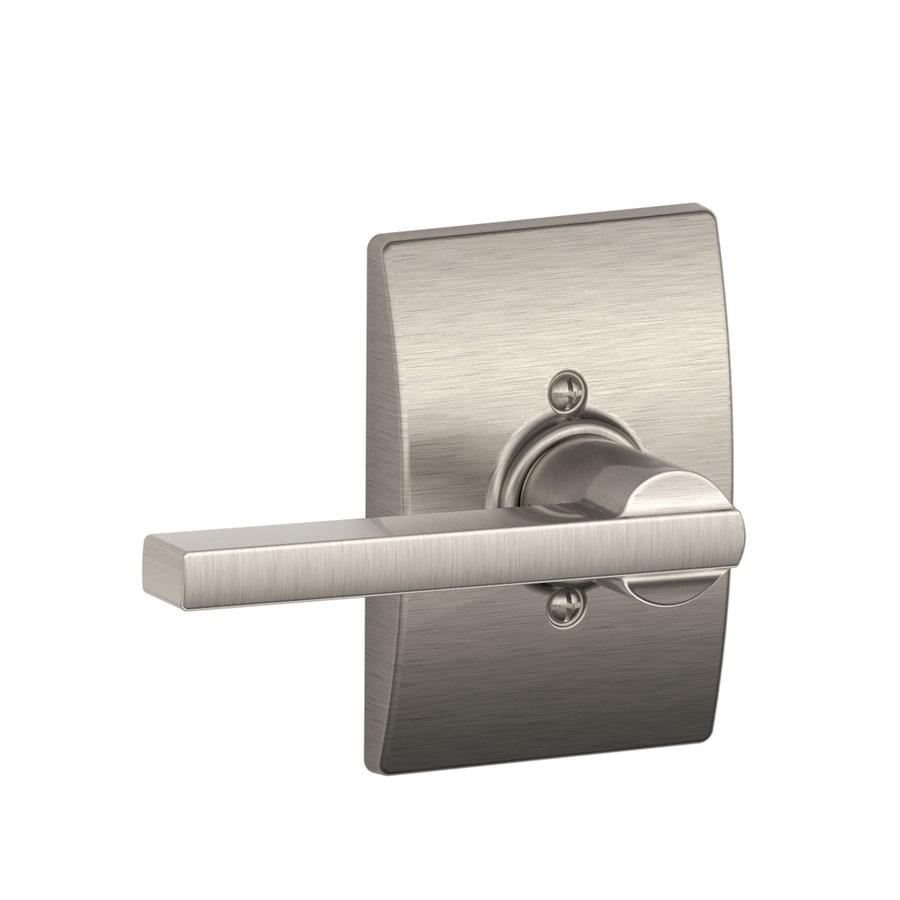 Schlage F170 Century Latitude Satin Nickel Universal-Handed Dummy Door Lever