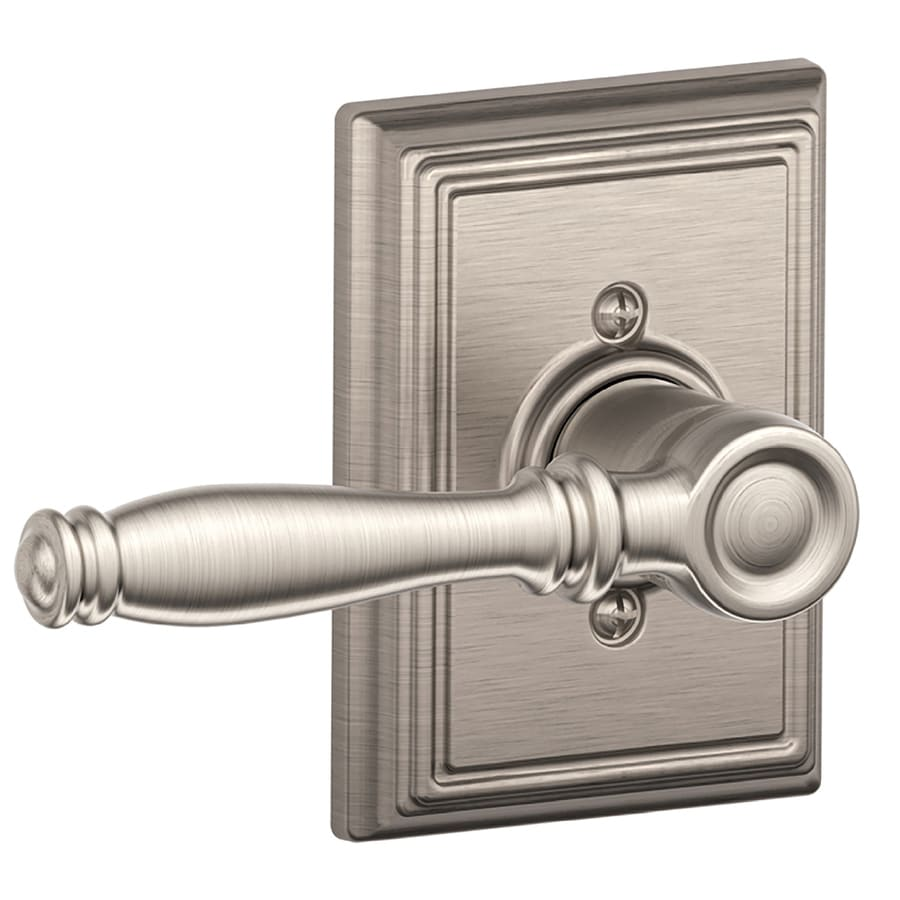 Schlage F Decorative Birmingham X Addison Satin Nickel