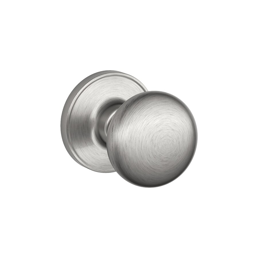 Schlage J Stratus Satin Stainless Steel Round Passage Door Knob