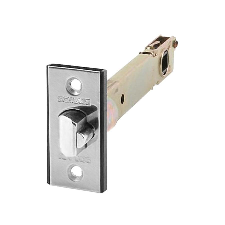 Schlage F Series 5-in Deadlatch Square Corner