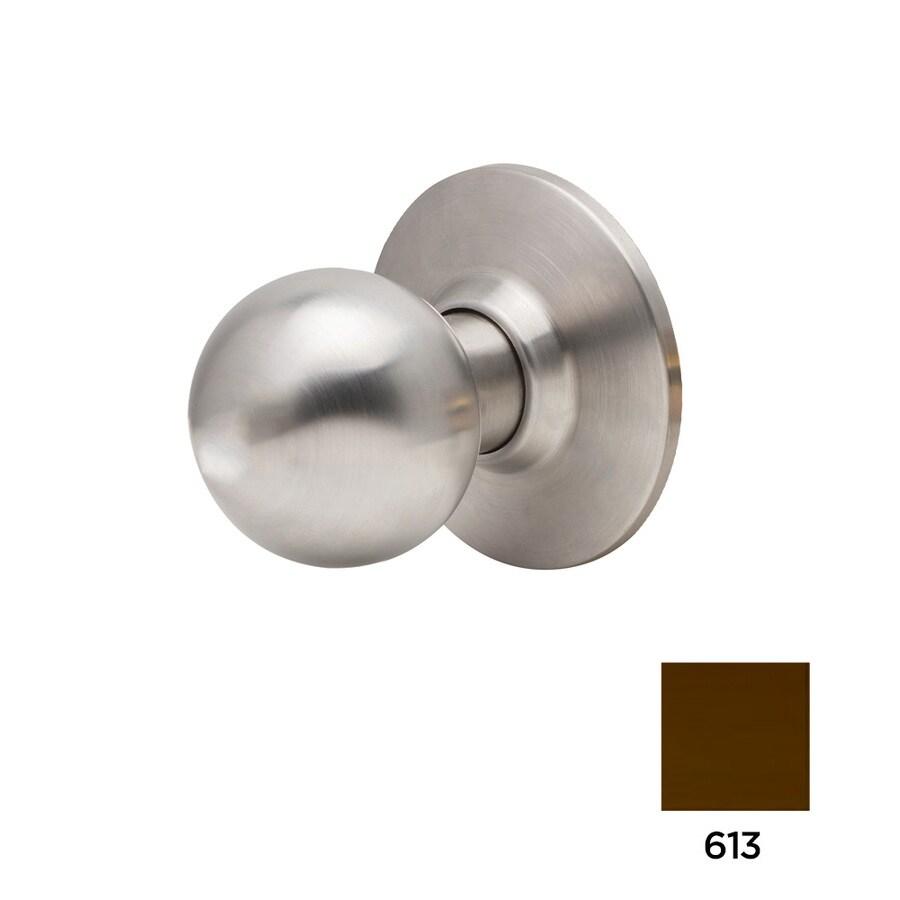 Dexter Commercial Hardware Ball Knob Dummy - Oil-Rubbed Dark Bronze