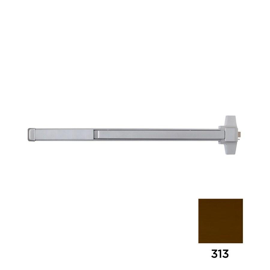 Dexter Commercial Hardware ED2000 36-in Dark Bronze Steel Rim Exit Device