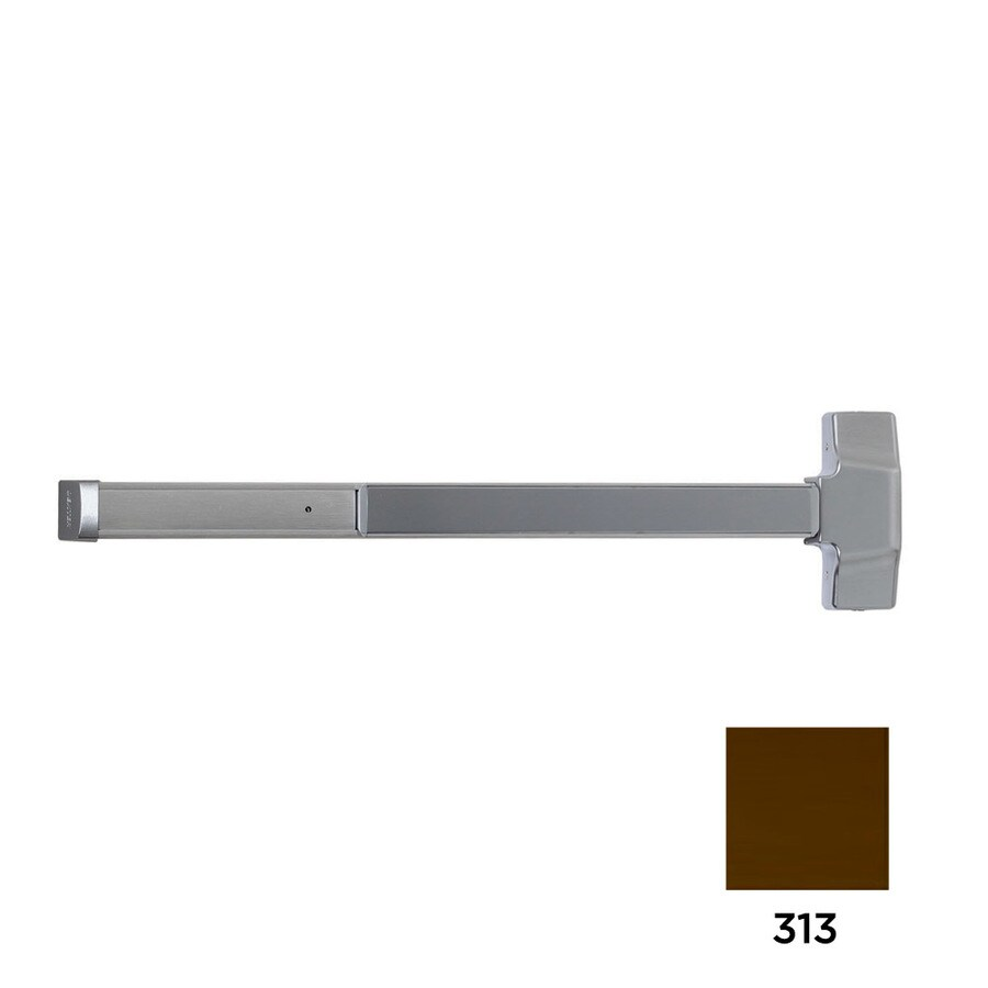 Dexter Commercial Hardware ED2000 36-in Dark Bronze Steel Vertical Rod Exit Device